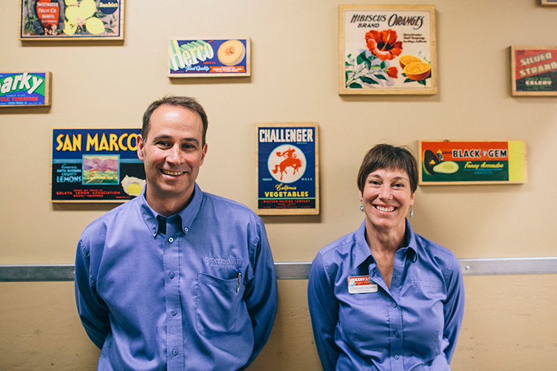 Mark and Stephanie Baldwin, Point Loma Grocery Outlet