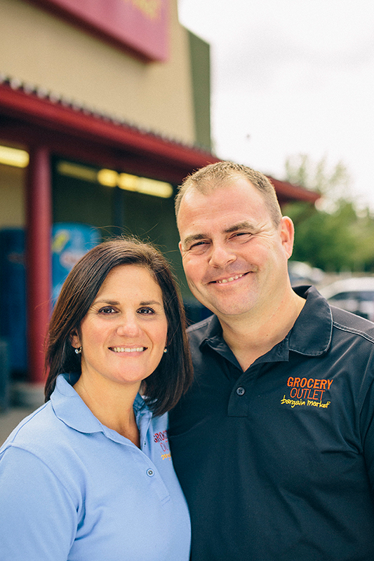 Troy and Tina Clark, Bellingham Grocery Outlet