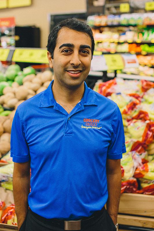 Avez Bashadi Grocery Outlet Operator