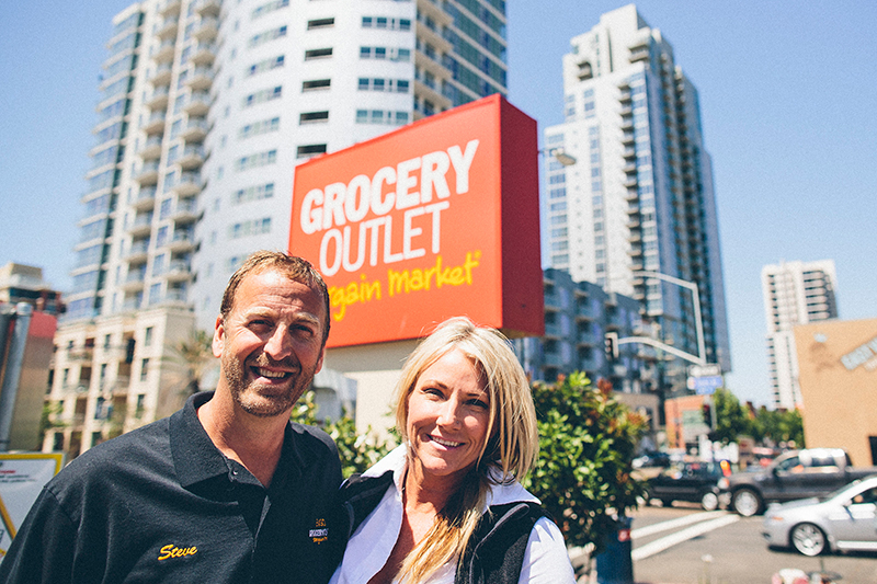 Steve and Kim Smith San Diego Grocery Outlet