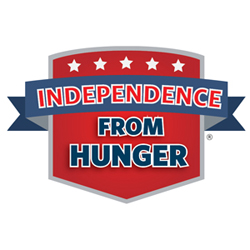 Independence from Hunger Shield Emblem