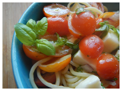 Pretty tomato pasta