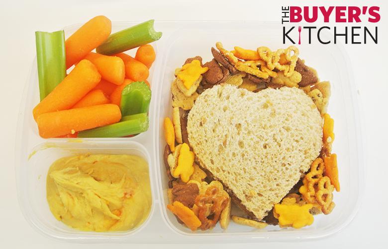 Back to School Heart Sandwich
