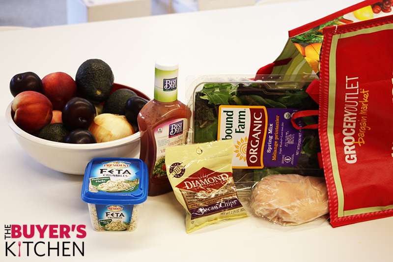 Plum Chicken Salad Ingredients