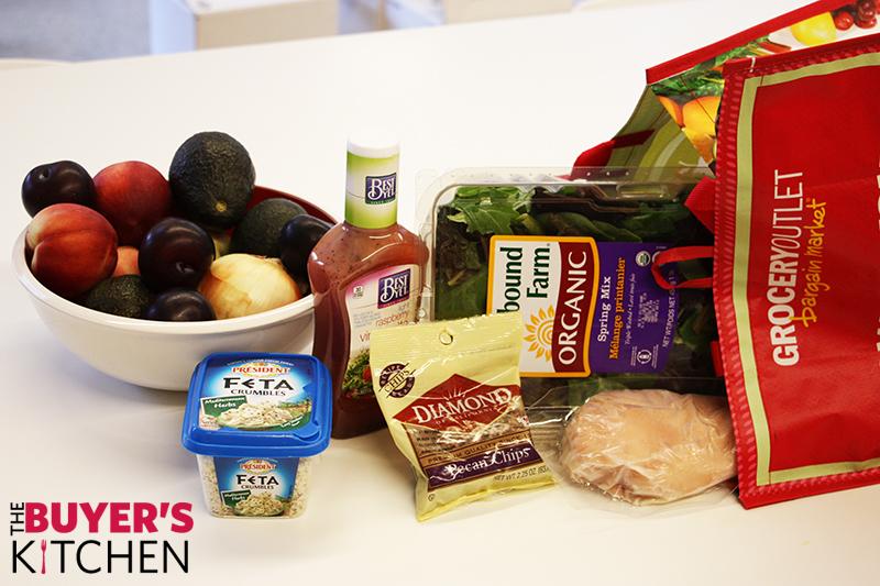 Plum Chicken Salad Ingredients