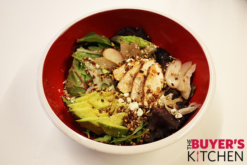 Plum Chicken Salad