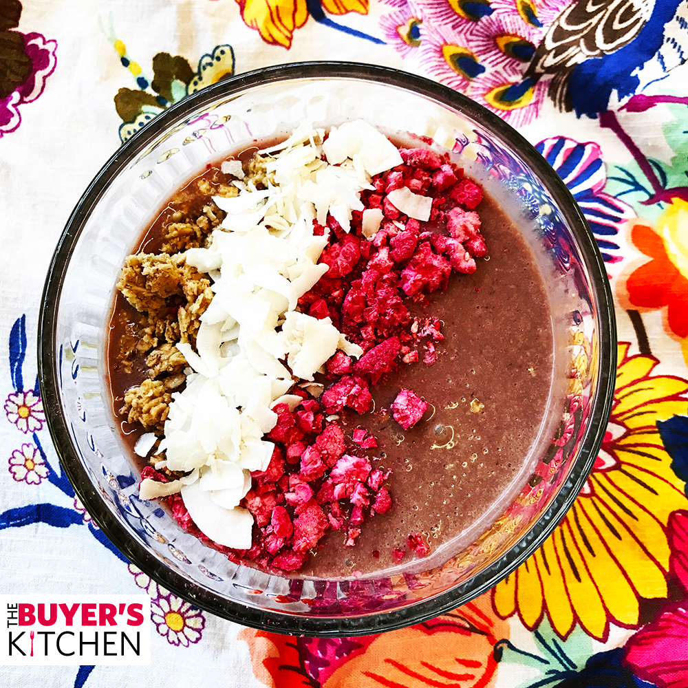 Acai Power Punch Smoothie Bowl