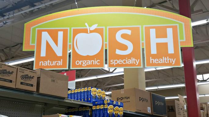 NOSH sign