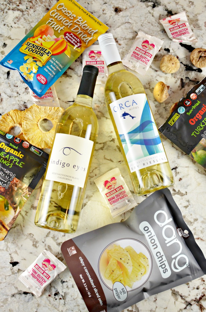 grocery outlet snacks plus wine