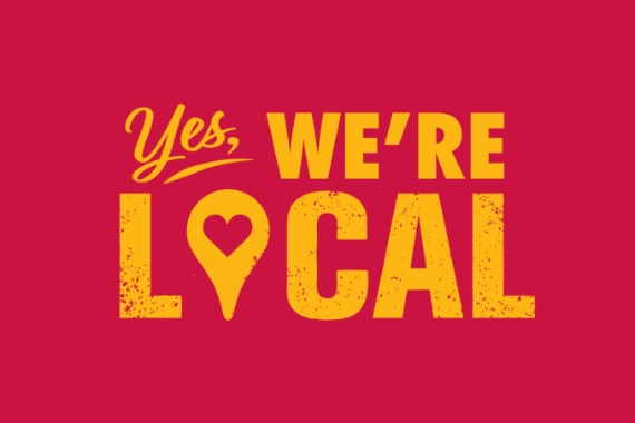 Yes, We're Local