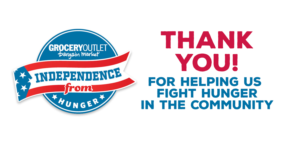 Grocery Outlet Independence From Hunger 2019