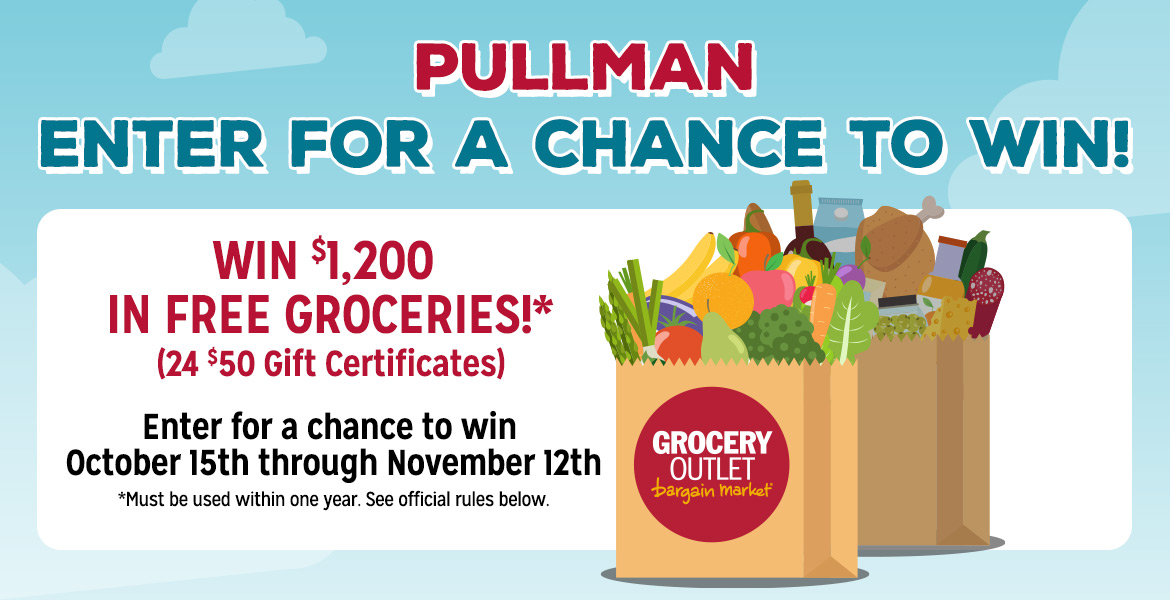 Enter for a chance to win $1,200 in free groceries